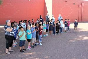 Pledge of Allegiance 2nd Grade