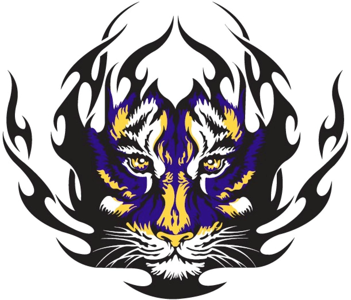 Toltec Elementary Tiger Mascot