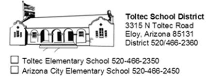 TSD Logo District Information