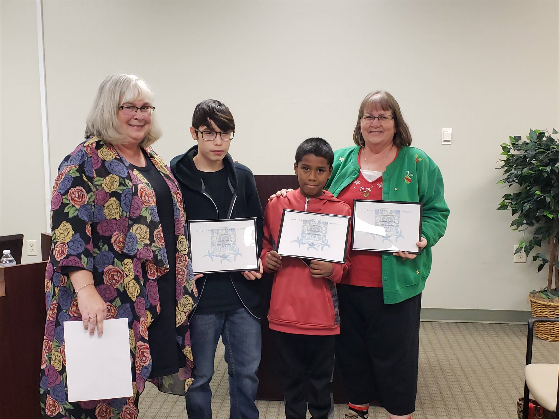 December ACE of the Month and Kids at Hope