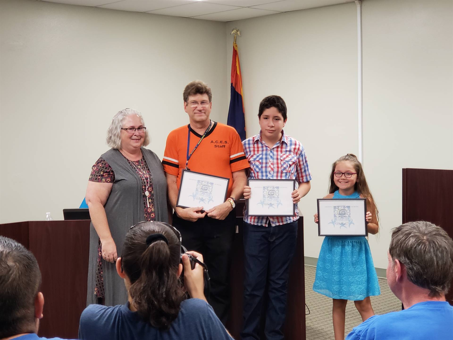 August ACE of the month and August Kids at Hope