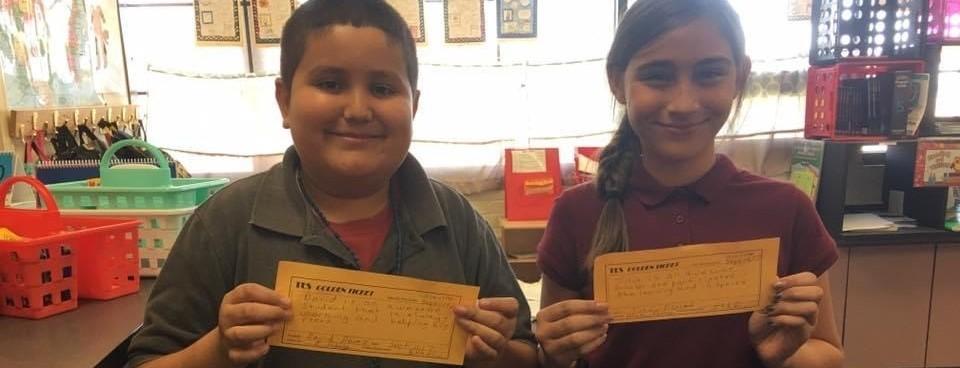 Students earn Golden Tickets