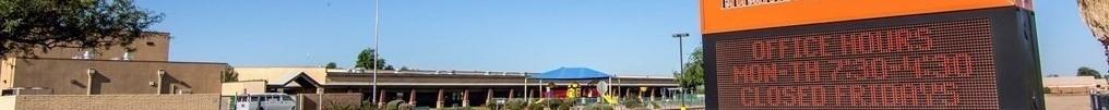 Arizona City Elementary School Bulldogs Marquee
