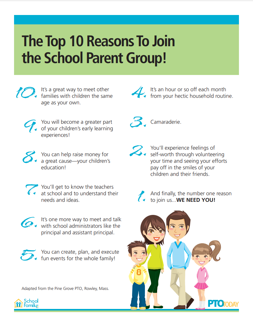 Top 10 Reasons to Join the PTO